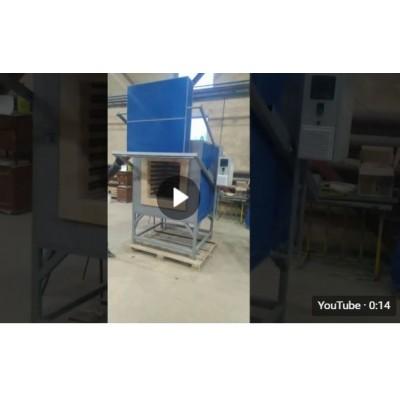 Муфельная печь КЭП-ZV150/1100П. Видео.