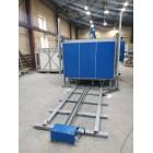 Электропечь сопротивления камерная с выкатным подом КЭП-ВПР300/800П